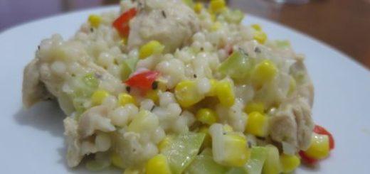 Couscous israélien poulet & maïs