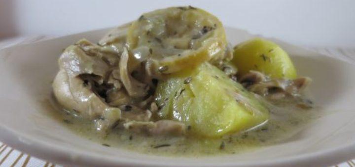 Cuisses de poulet au citron