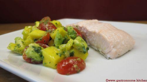 Salade mangue & avocat