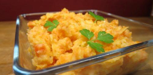 Purée atomique carottes et pommes de terre